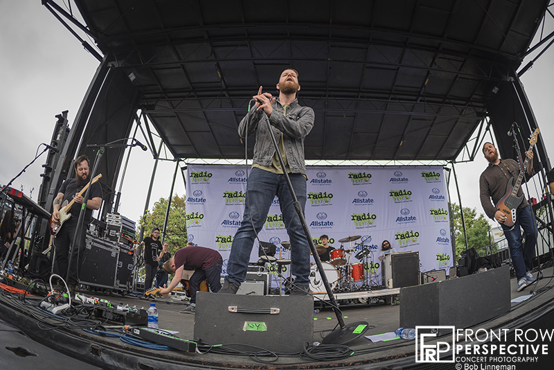 The Wonder Years performing at the Radio 104.5 Endless Summer Show