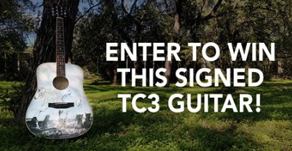 Win TC3 Autographed Guitar !!