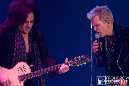 Billy Idol-Steve Stevens performing at the Xcite Center in the PARX Casino - Bensalem, PA on 03.30.19