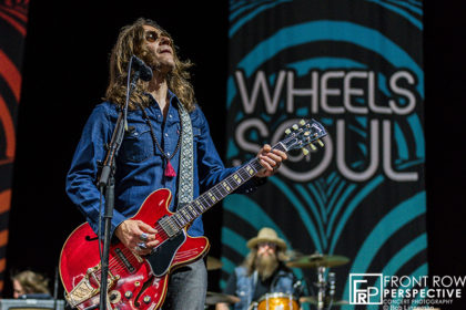 Blackberry Smoke performing at The Mann Center in Philadelphia 07.10.19