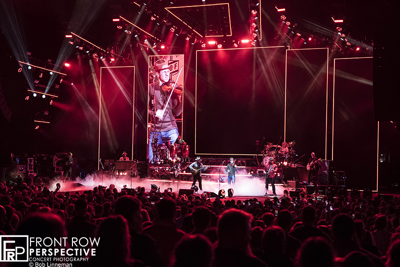 Zac Brown Band performing in Camden, NJ 09.06.19